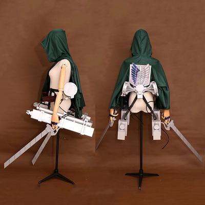 taobao agent Attack on Titan Season 4 Captain Mikasa Three-dimensional Mobile Device Thunder Gun Weapon Cosplay Props