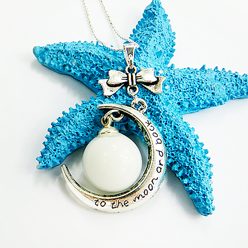 Small Ball New Moon Breast Milk Pendant Package