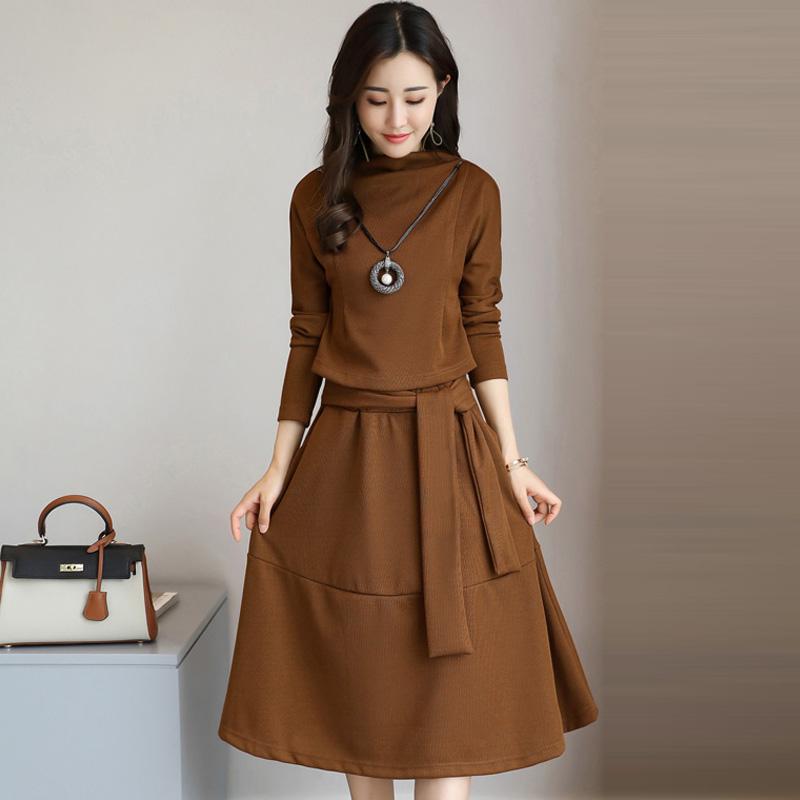 套装裙两件套2017秋装新款<font color='red'><b>女装</b></font>韩版