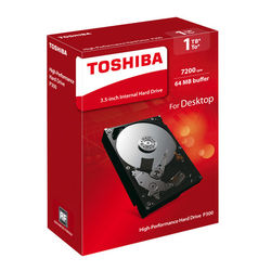 Toshiba/Toshiba P300 mechanical hard drive 1T 7200 rpm vertical PMR can monitor 64M cache desktop computer 3.5 inches boxed 1tb