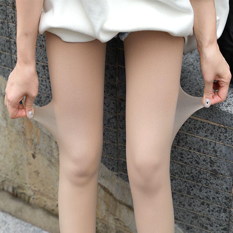 10月22日最新优惠鱼小袜光腿神器女秋冬打底袜春秋薄款裸腿保暖连裤袜肉色丝袜裤袜