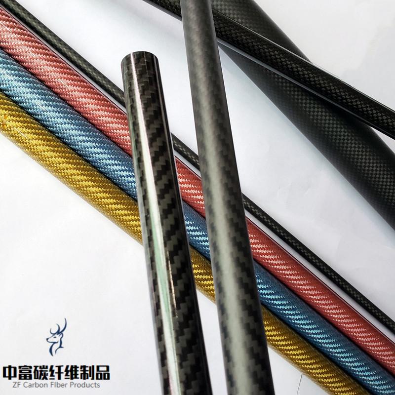 3K carbon fiber tube 6-52mm inner diameter Toray carbon fiber tube