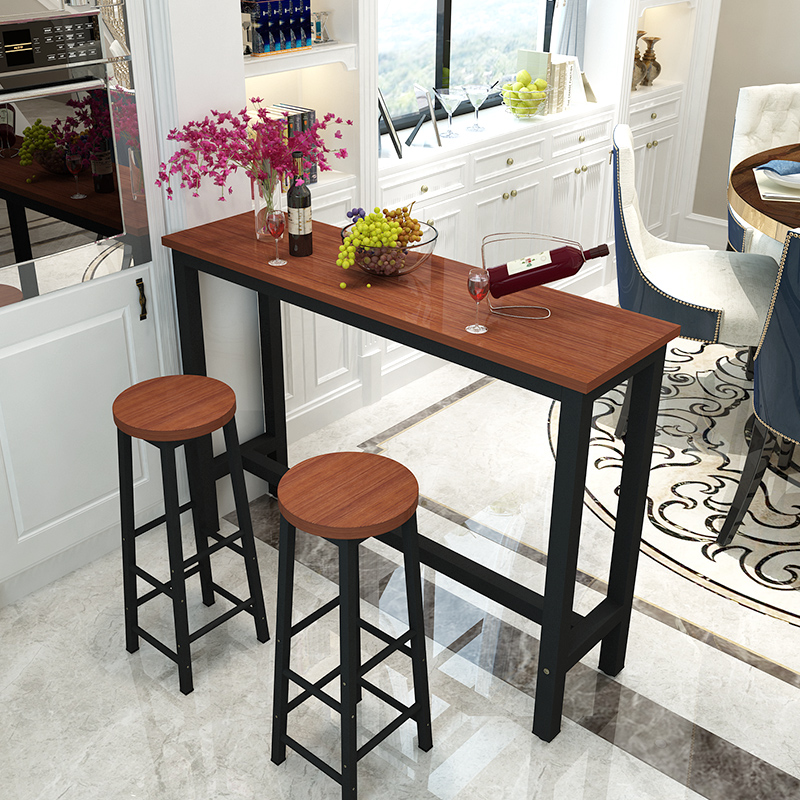 Simple Bar Table Home Against The Wall Small Bar Living Room Divider  Entrance Narrow Table Small ...
