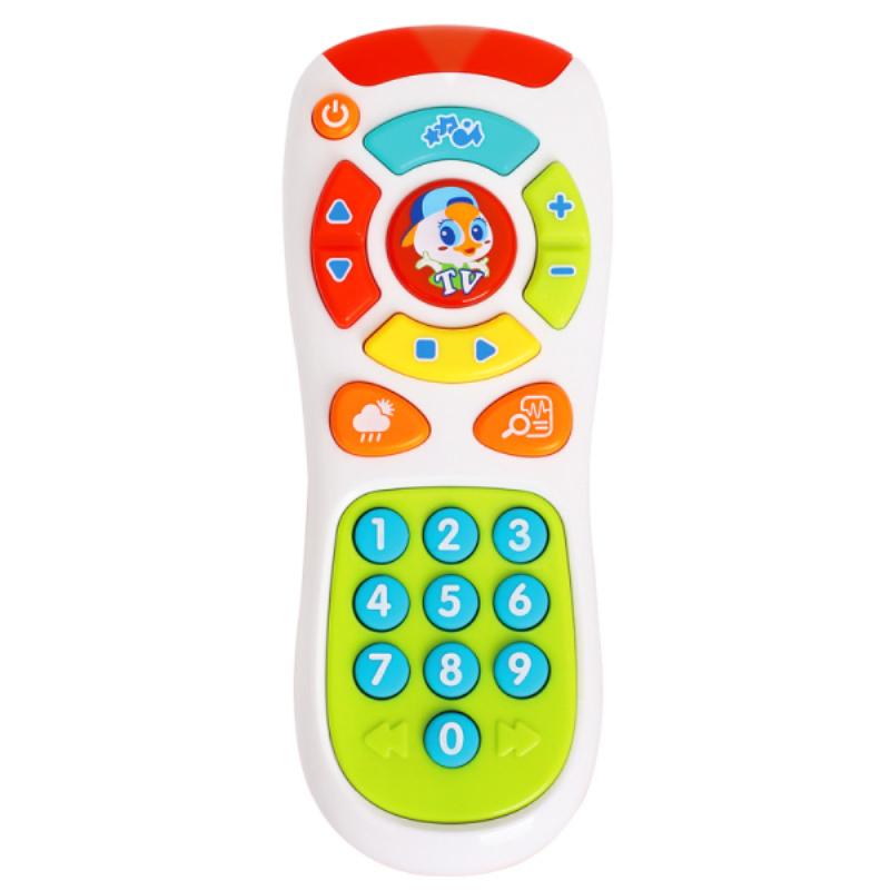 汇乐探索遥控器玩具音乐手机益智儿童电话