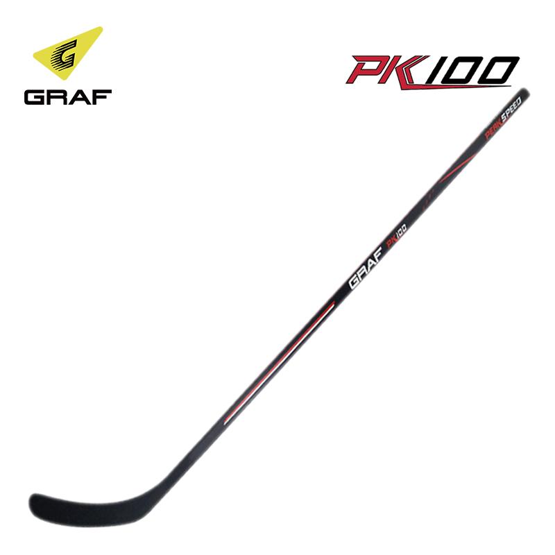 包邮冰球杆GRAF瑞士PK100系列木质球杆曲棍青少年儿童成人冰球杆