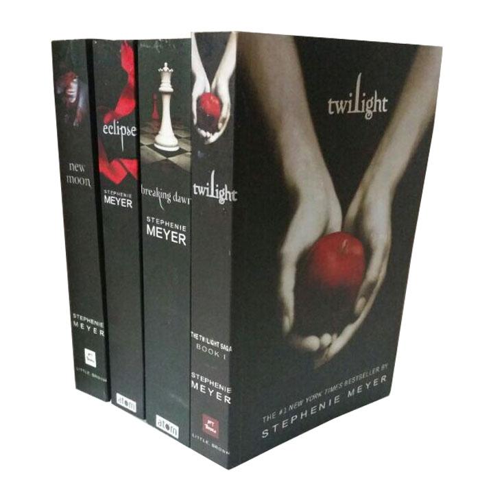 暮光之城英文版 The Twilight Saga 1-4全套暮色/新月/破晓等小说