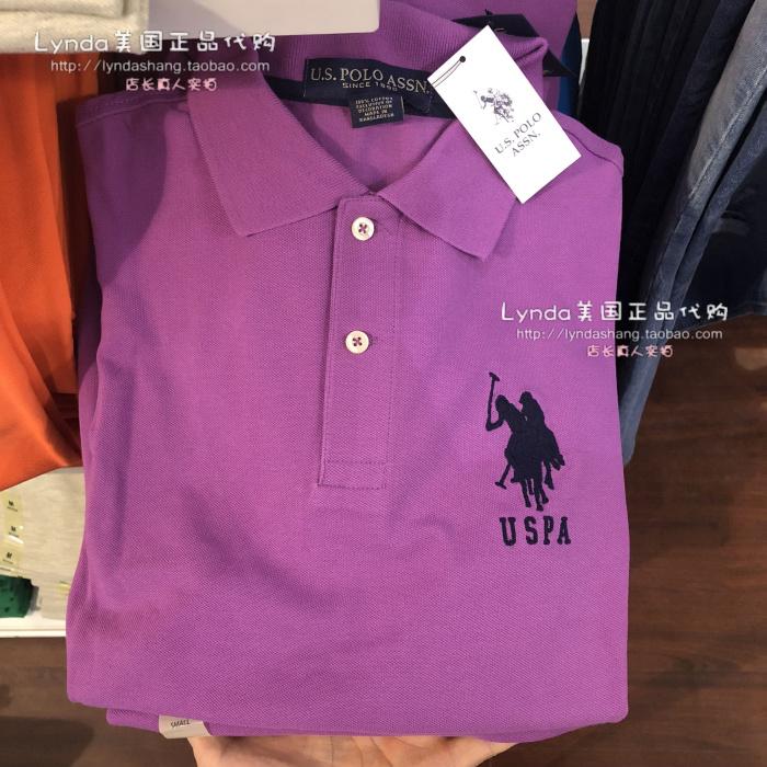 Lynda Hoa Kỳ chính tả mail CHÚNG TÔI POLO ASSN Malaysia nam cổ điển ve áo Polo áo sơ mi kinh doanh bình thường ngắn tay áo áo phông polo