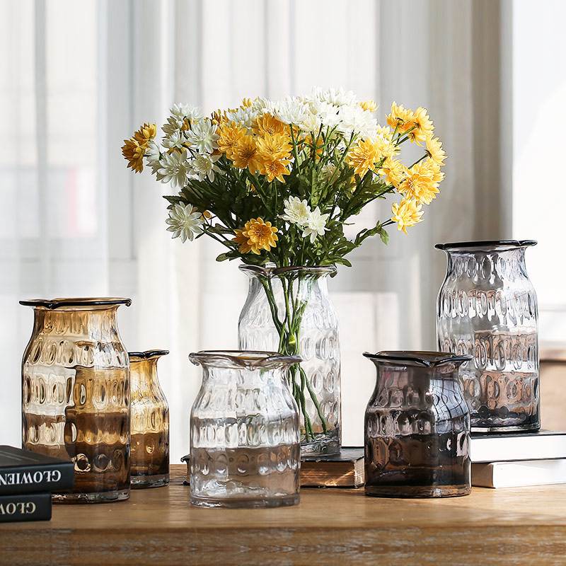 Usd 4013 Bx Simple European Style Transparent Glass Vase