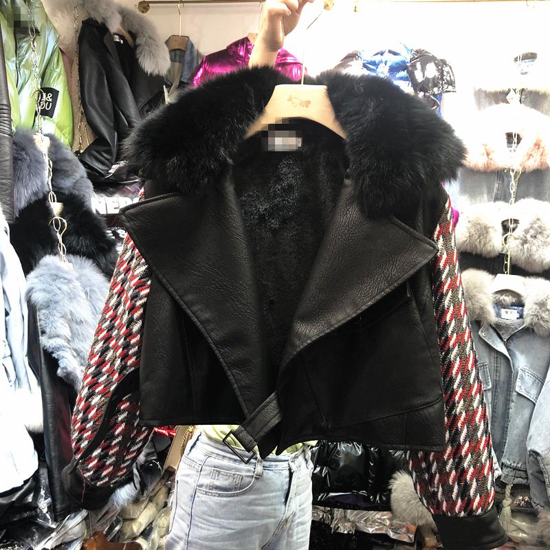 2019 новый осень корейский свободный весна ретро порт вкус осень и зима куртка осень небольшой ароматный женские короткие пальто 605139242006