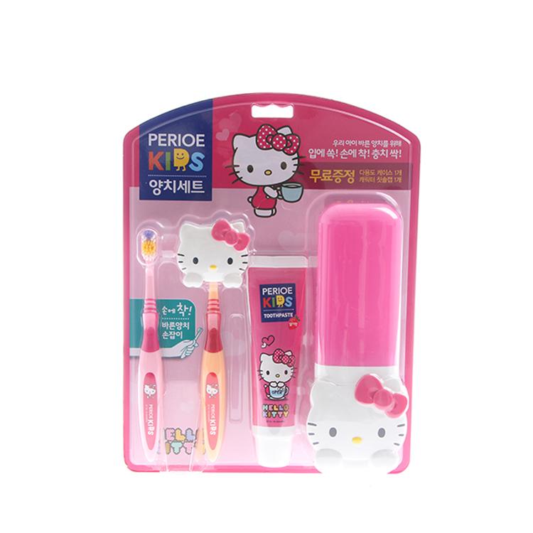 韩国进口保宁Hellokitty宝露露儿童牙膏3-6-12岁宝宝水果味可食用