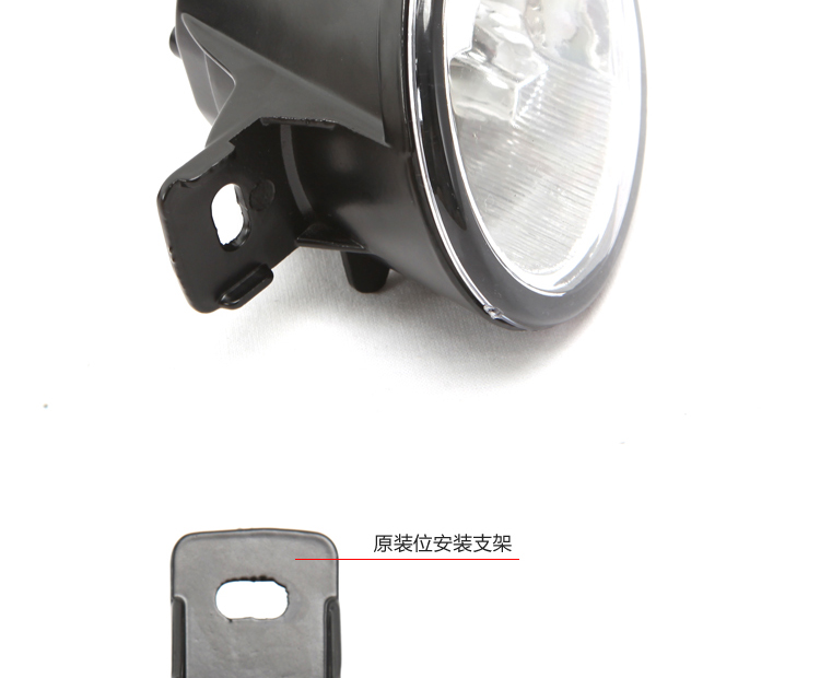 Pair 3 Direct Bolt On Led Fog Light Assembly Lamp For