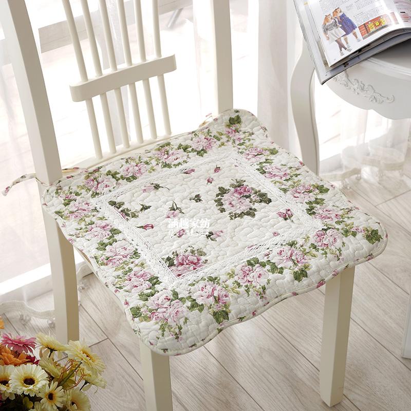 Cotton mục vụ ghế đệm ghế đệm bàn ăn ghế đệm đệm ghế ăn đệm vải châu Âu ghế đệm văn phòng cung cấp đặc biệt mùa đông mùa thu - Ghế đệm / đệm Sofa