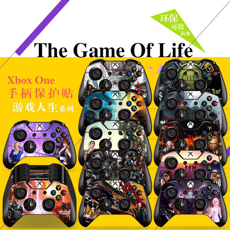Xbox one duy nhất xử lý sticker xboxone ban đầu máy đau cá tính trò chơi bảo vệ toàn thân - XBOX kết hợp