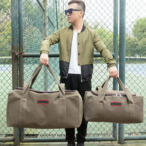 Công suất lớn túi du lịch xách tay vải hành lý túi nam du lịch đường dài túi vai túi du lịch di chuyển túi
