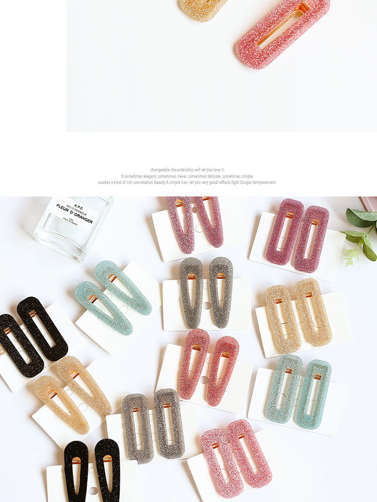 Couple Brass   Electric White Iron Hair Accessories OF190426119287