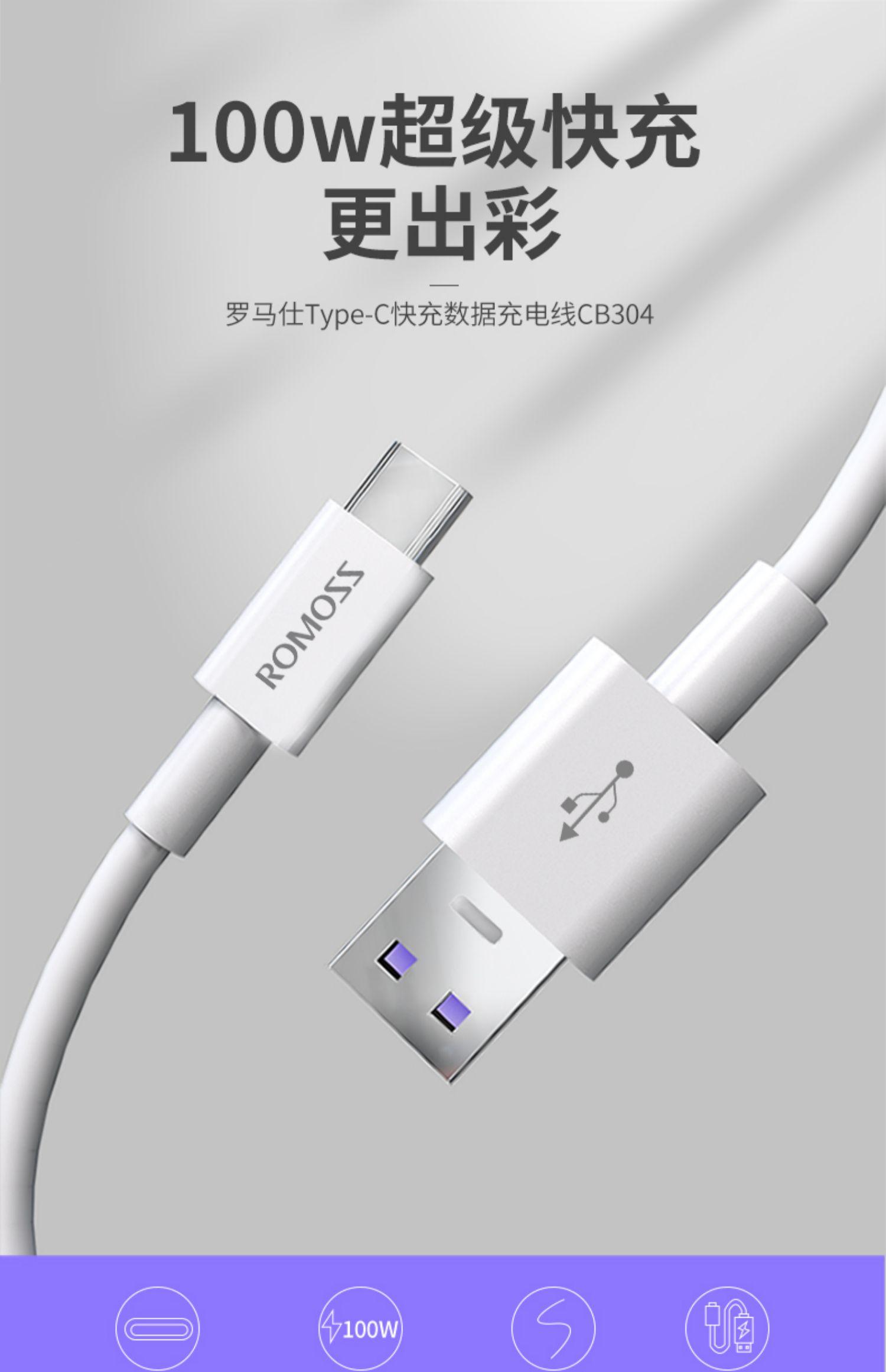 【罗马仕】Type-c快充数据2