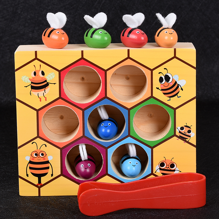 usd 13 25 kids wooden fine action game one year old baby building
