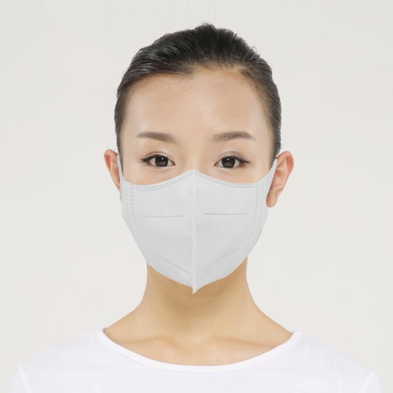 绿盾M90一次性3D立体口罩防尘透气防雾霾防花粉成人儿童口罩
