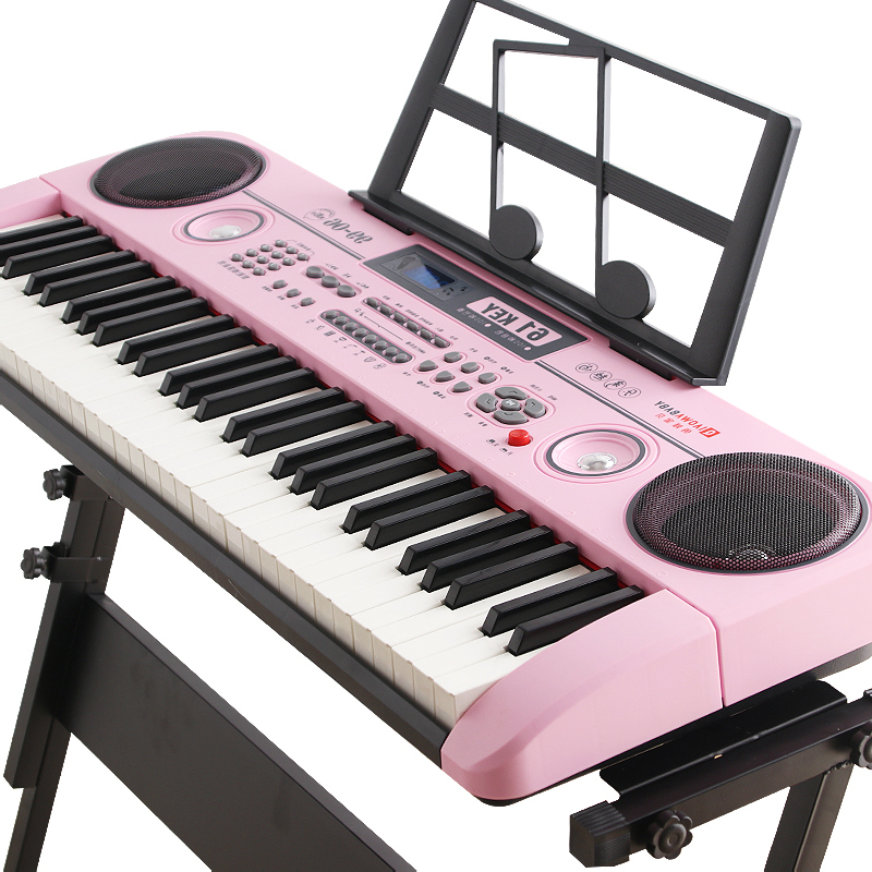Keyboard children beginners 61 keys adult small piano toy with microphone  piano keys 3-6-12 years old girl