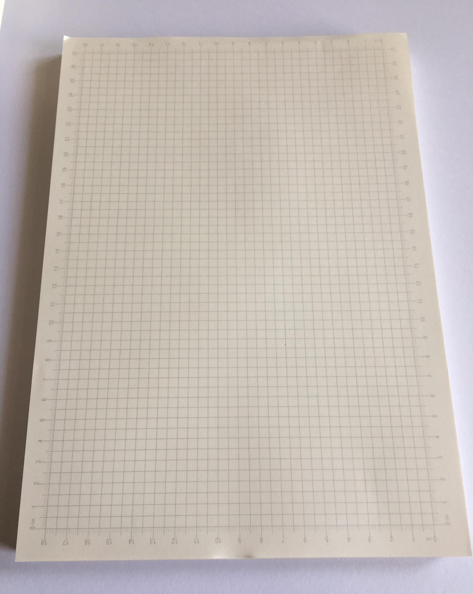 usd 10 66 100g double sided drawing paper a4 1mm2mm2 5mm5mm grid