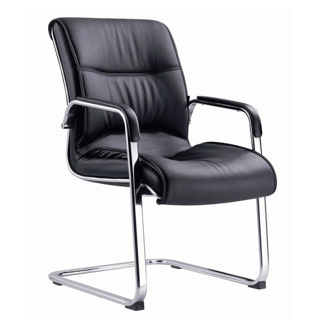 Conference chair modern hardware bow office chair training swivel chair staff chair leisure simple computer chair class front chair