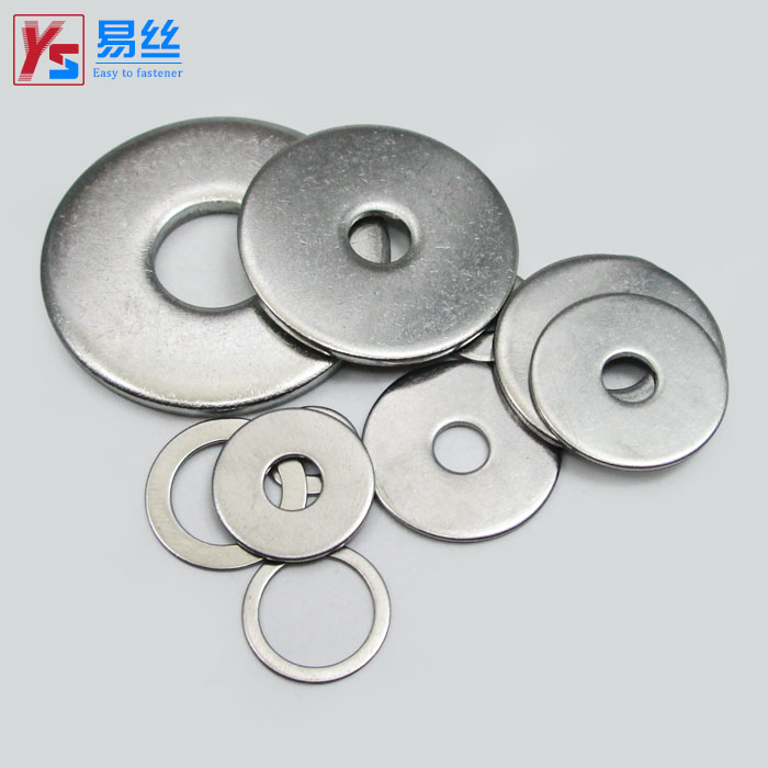 304 stainless steel flat pad enlarged gasket washer Thickened flat ...