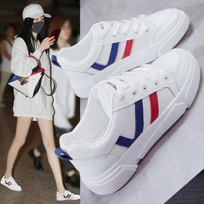 小白鞋帆布女学生韩版2021春夏季新款百搭ins板鞋运动休闲鞋女