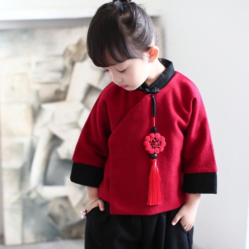Китайский традиционный наряд для детей Chao Bao Lian Meng Chao Bao Lian Meng