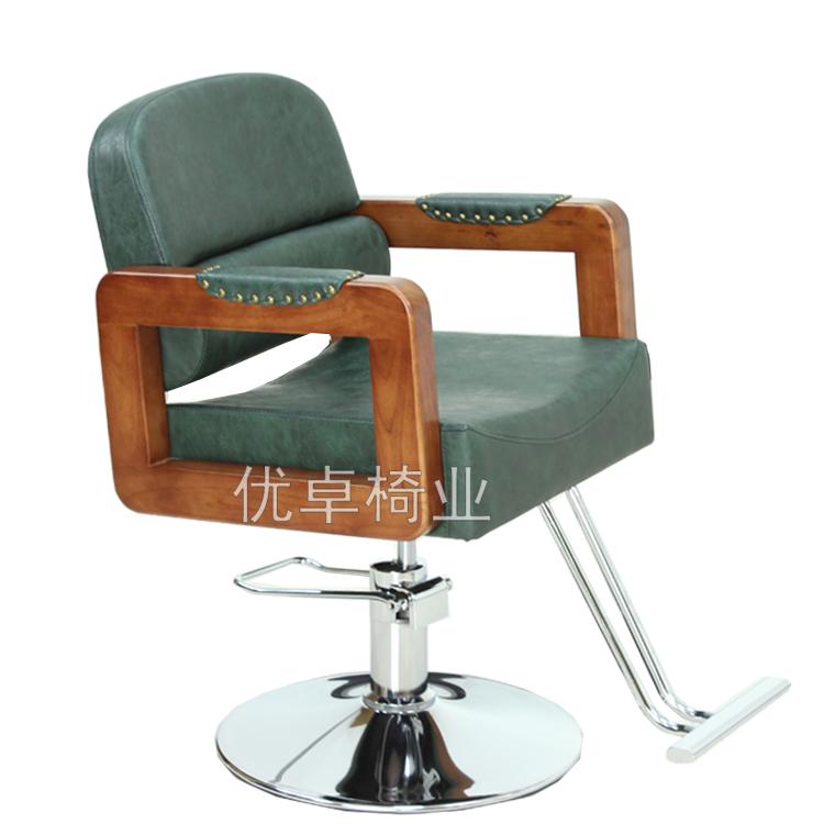 Кресло парикмахерское Салон волос Парикмахерская стул стул стул откидываются ручки производители Контента продажа волос салон шампунь кровать новый стиль стрижки стульев y025