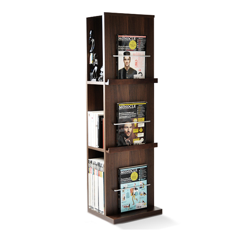 Choose Wood Livable Simple Modern Floor Bookcase Student Bookshelf Creative Rack Storage Shelf Display Stand