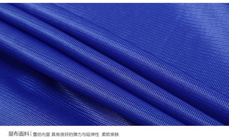白领公��aj:f�_葵雯秋季新款韩版职业白领公务员气质蓝色显瘦收腰包臀中袖连衣裙