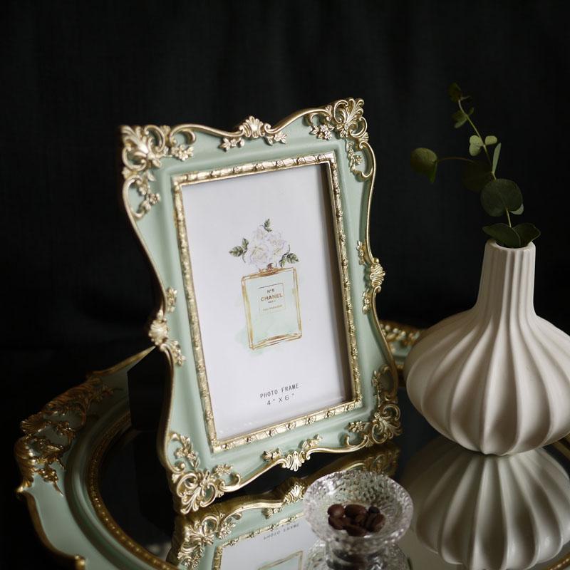 Französisch stil gold darstellung gold geschnitzt klassischen ...