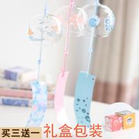 Стеклянный колокольчик из вишневого цвета, японский стиль Эдо, Сяоцин новый Домашнее творчество и ветер украшения девушки выпускной подарок 999