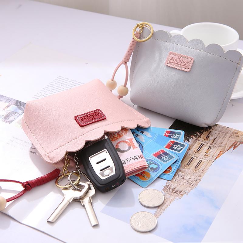学生心ins小钱包硬币短款韩版可爱网红零钱包流苏百搭少女钥匙包