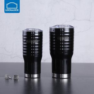 乐扣乐扣 黑浪真空保温杯 冰镇啤酒保冷杯男士 LHC4147组合