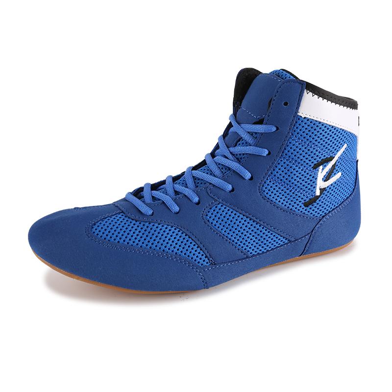 Boxing shoes мужчина бокс обучение обувной женщина бросать упорная борьба обувной борьба забастовка фитнес дом приземистый жесткий тянуть обувь