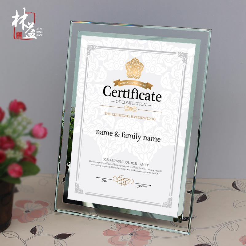 USD 13.20] Award box honor certificate box patent frame wall ...