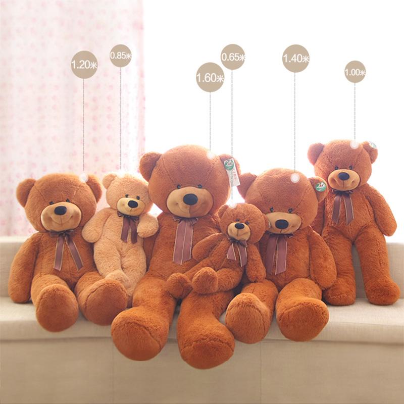 泰迪熊玩偶抱抱熊可爱公仔大号抱枕圣诞新年礼物毛绒玩具布娃娃
