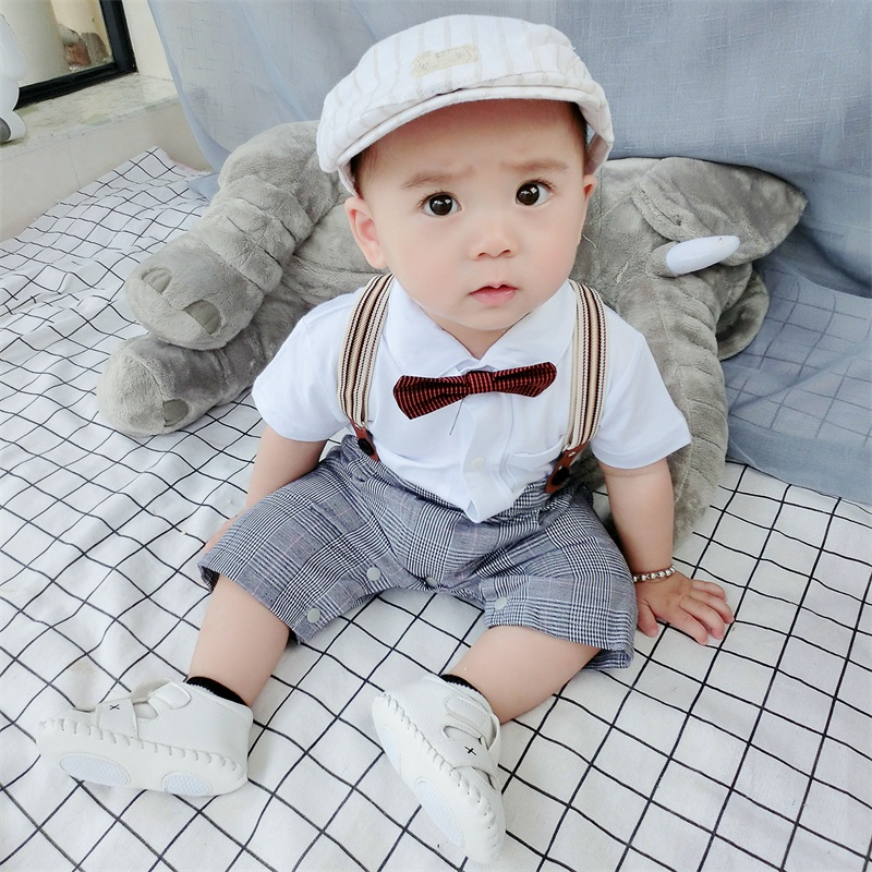 ddef7975d5706 USD 34.48  Newborn baby 3 months 6 summer Male 1 year old 0 infant ...