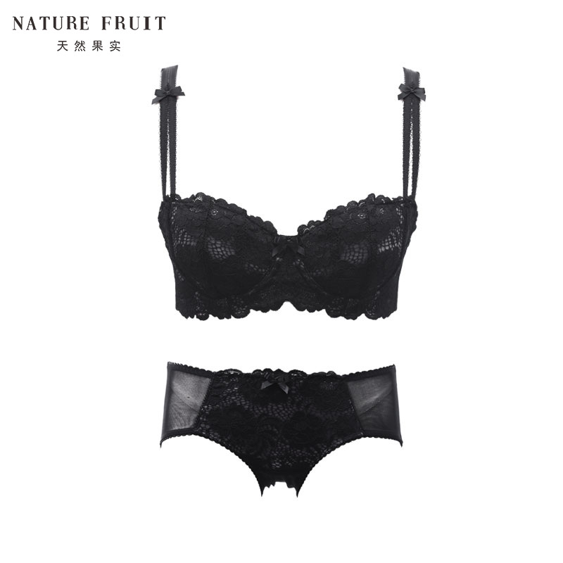 5440adc841e GE ruier s natural fruit sexy thin section large size half cup underwear  set (bra underwear · Zoom · lightbox moreview · lightbox moreview ...