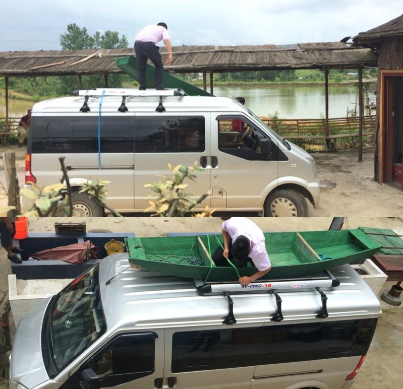 Changan 6363 Starlight Taurus S460 Thế hệ thứ hai 4500 Van Hành lý Giá nóc Mái Giá hành lý - Roof Rack