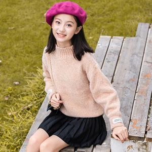 女大童韩版加厚款毛衣