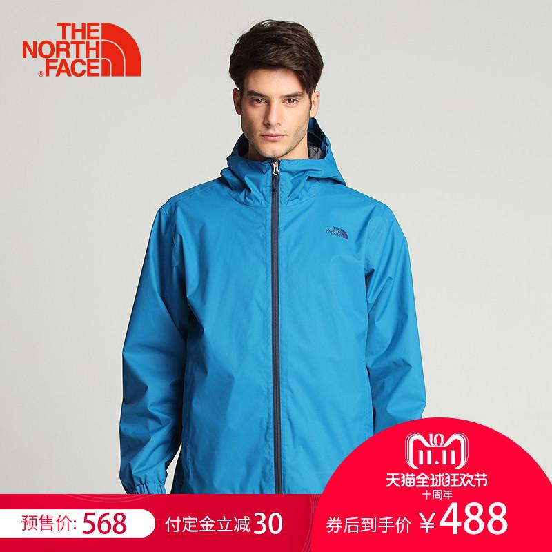 18年双11预售 The North Face 北面 18年款 防水防风 男式户外连帽冲锋衣 3L88 低于¥438包邮(需定金¥60) 3色可选 另有女款同价