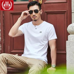 【战地吉普】100%纯棉短袖T恤