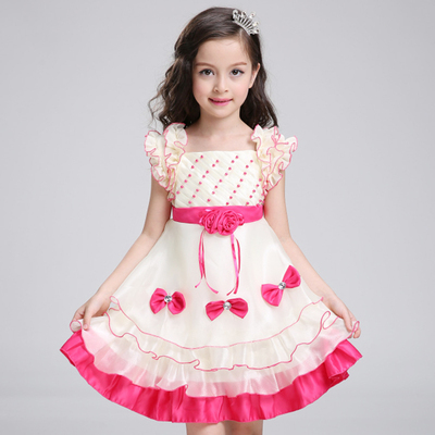 Children's clothing 2017 summer new Korean version of the girls tide skirt children's dress princess dress skirt Tutu dress