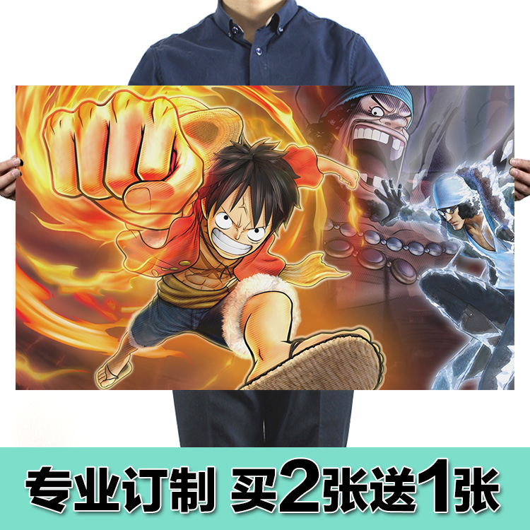 Usd 10 14 Anime Movie One Piece Poster Luffy Hd Wallpaper