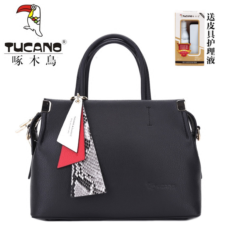 Woodpecker leather handbags 2018 new fashion casual ornaments handbag  leather bag shoulder messenger bag 2027d1013e