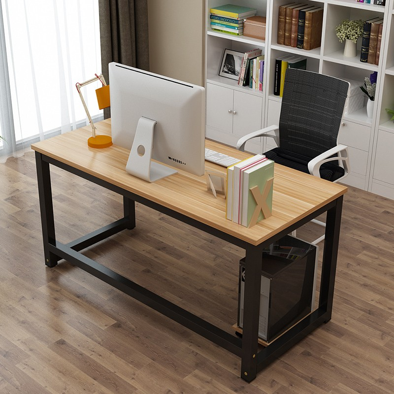 Double office desk Double Work Simple Computer Table Long Table Desk Fashion Simple Double Office Desk Desktop Home Desk Simple Table Chinahaocom Usd 5571 Simple Computer Table Long Table Desk Fashion Simple