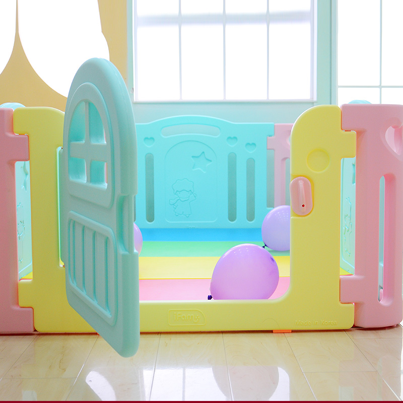 USD 586.71] South Korea sent straight ifam baby game fence child ...