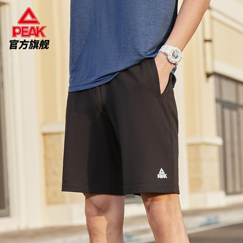 匹克短裤男夏季官网透气速干冰丝五分裤